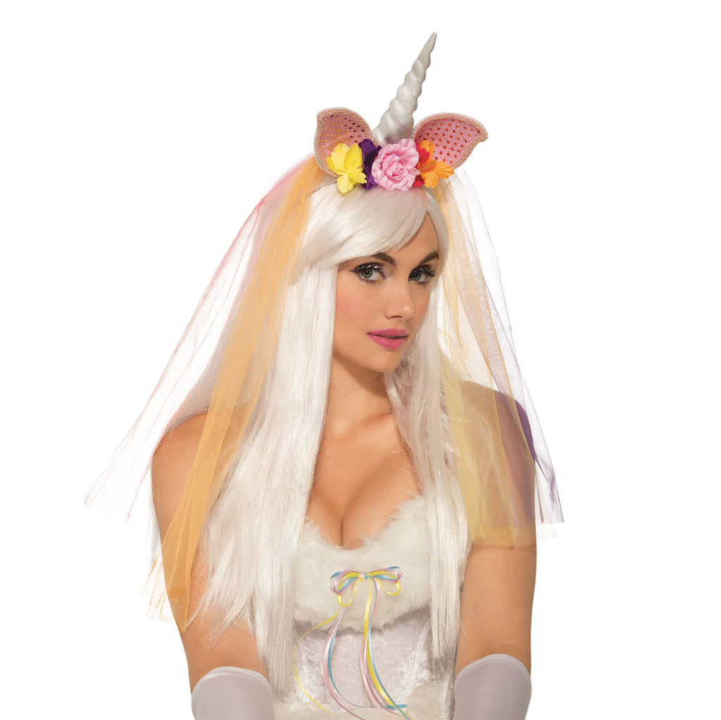 Unicorn Horn and veil