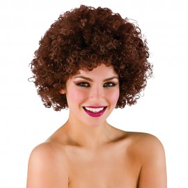 Funky Brown Afro Wig