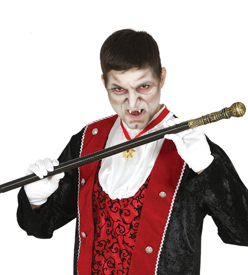 Vampire Lord walking stick fancy dress cane
