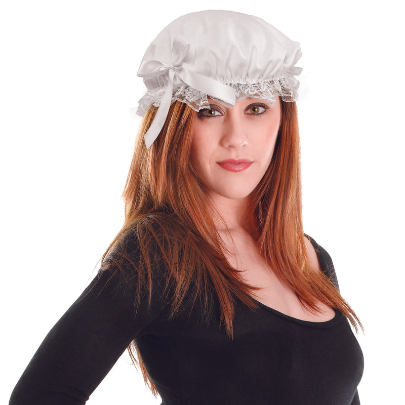 Victorian Maid Cap with Lace
