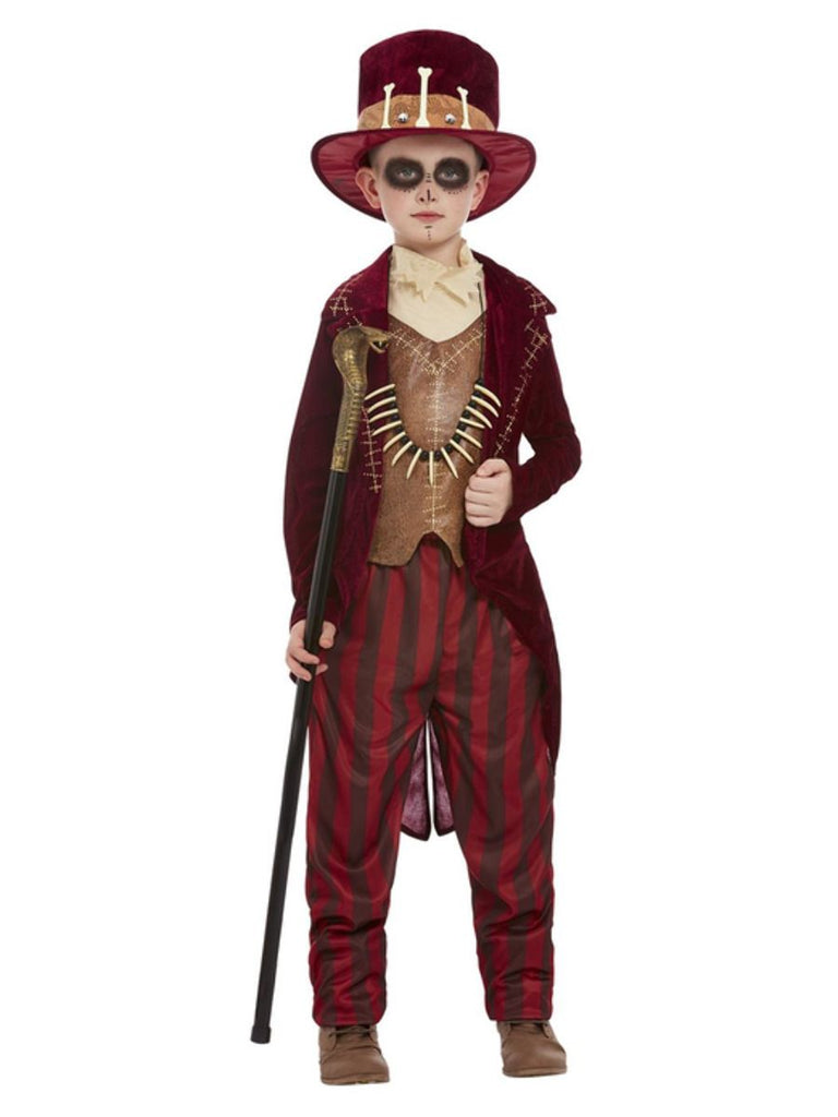 Boys Voodoo Witch Doctor fancy dress Costume