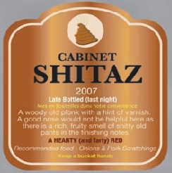 Wine Labels Cabinet Shitaz