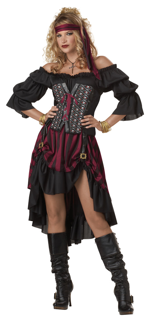 Ladies Wench Pirate Outfit Deluxe