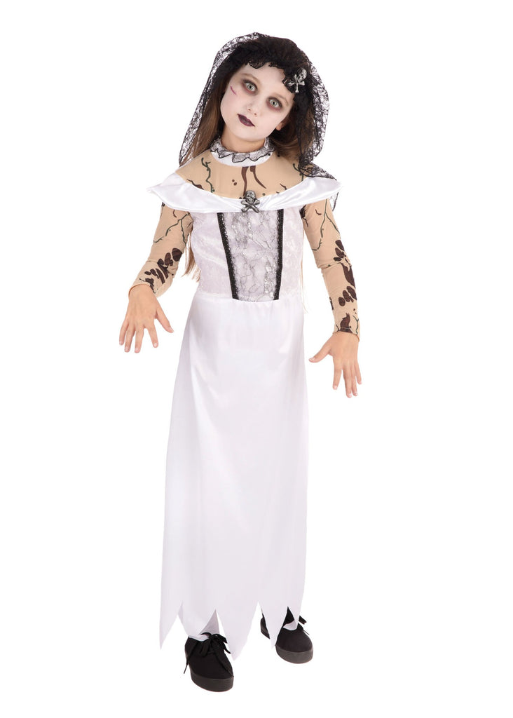 Zombie Bride Children's Halloween Costume