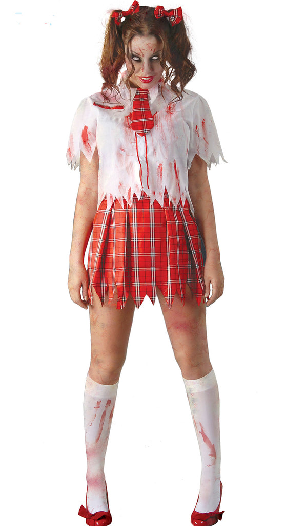 Zombie College School Girl Costume