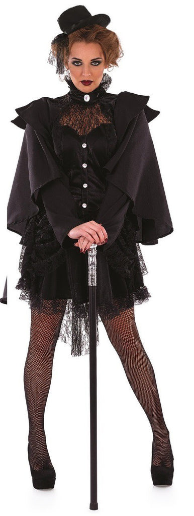 ladies victorian widow plus size costume adult