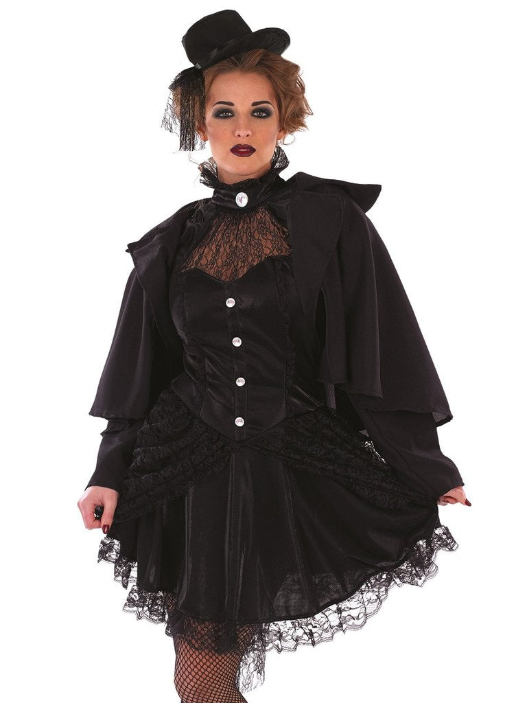ladies victorian widow costume adult