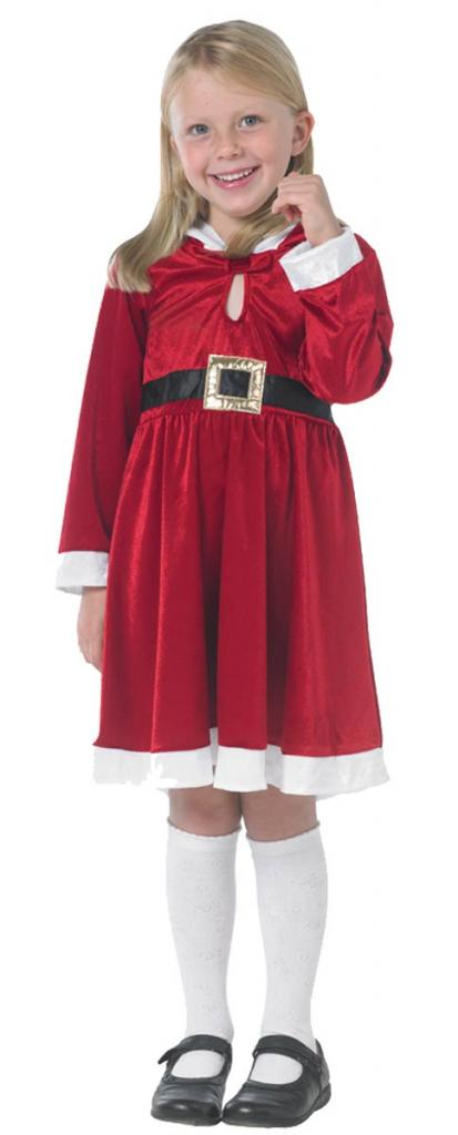 Miss Santa Costume for Girl's