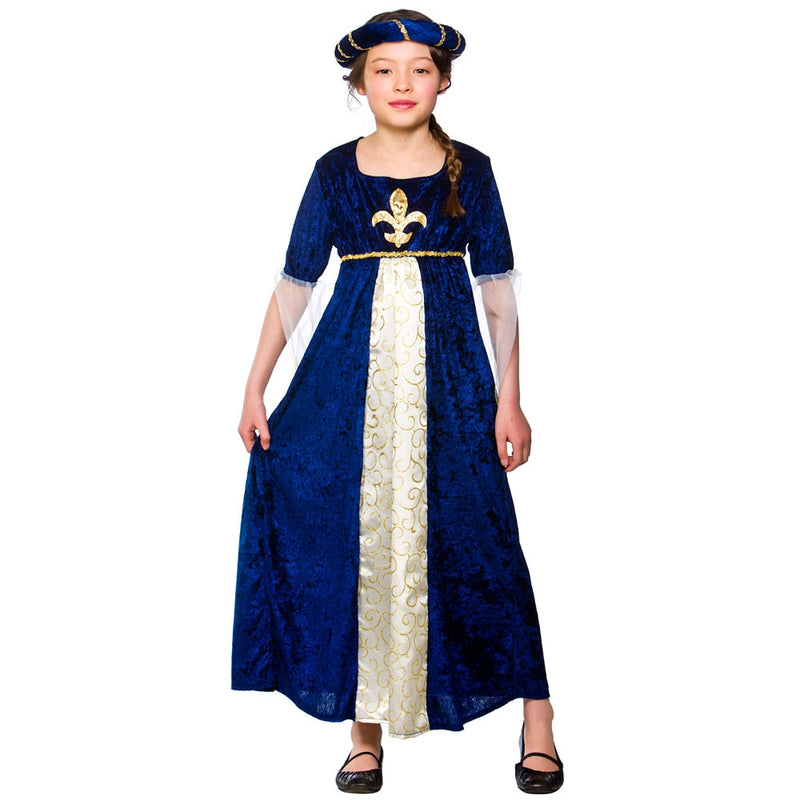 Tudor Princess Costume For Girls