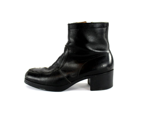 Leather 70s Boots