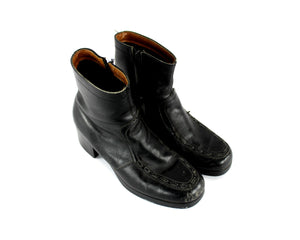 1970's Leather Boots