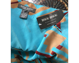 Bisou Bisou Silk Skirt