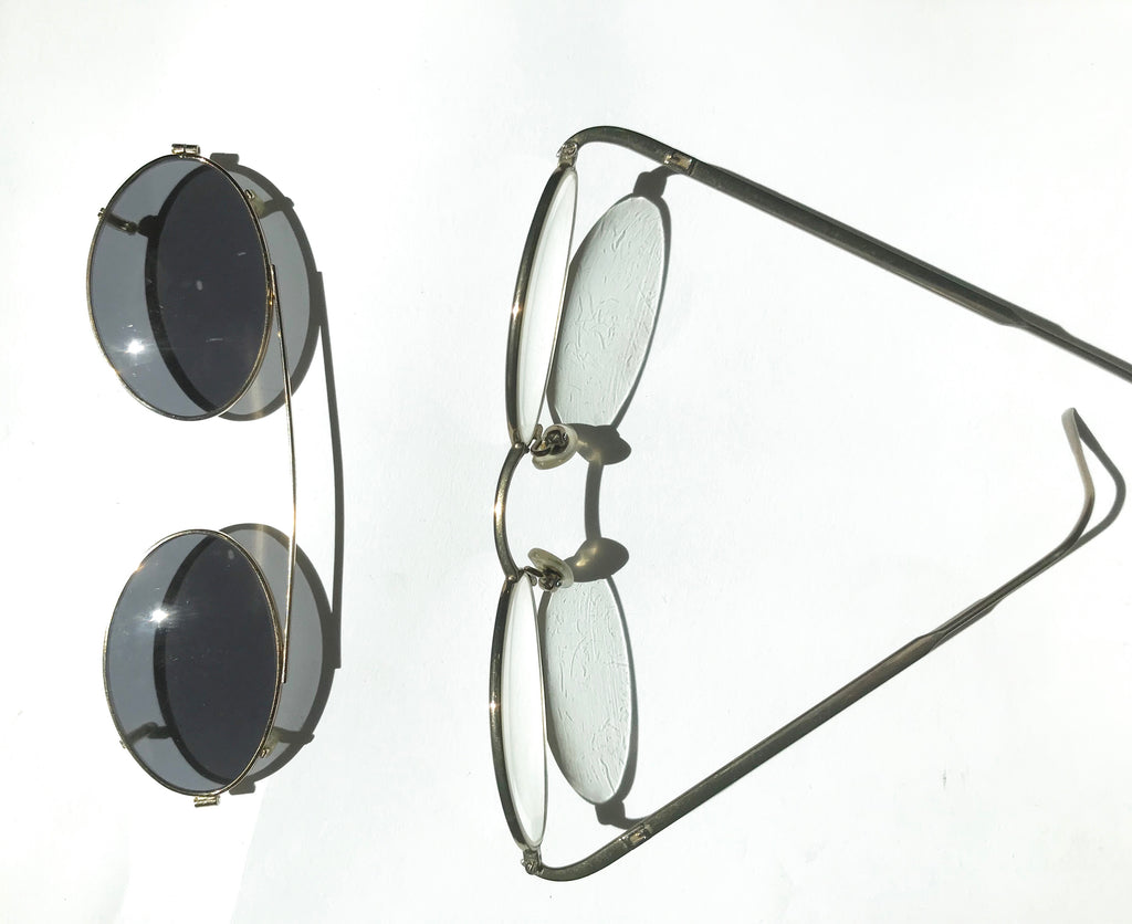 Gucci Metal Frame Prescription Sunglasses