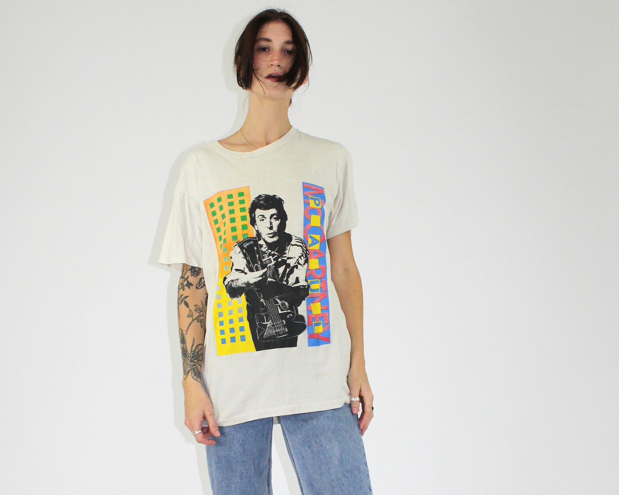 Paul McCartney World Tour Single Stitch Tee