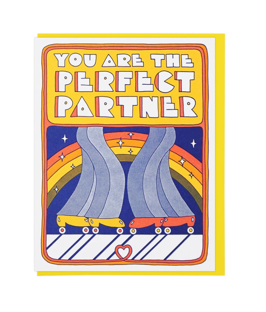 Lucky Horse Press Greeting Card - You Are The Perfect Partner