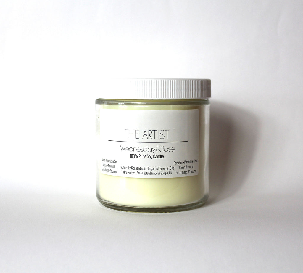 W+R White Label Candles | 16oz