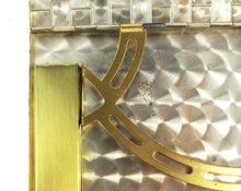 Vintage 1930s Minaudière - Brass Make Up Handbag