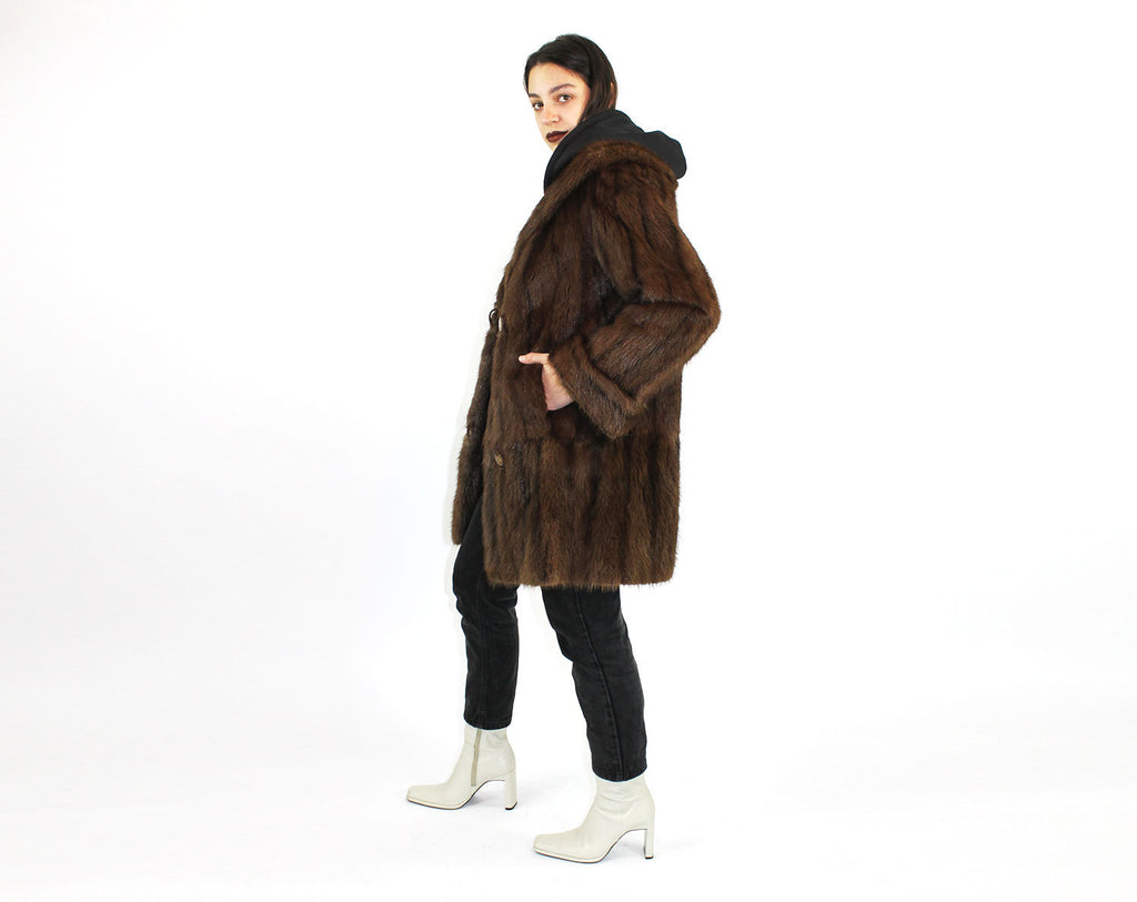 Fur Swing Coat