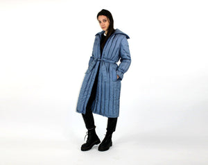 Puffer Trench Coat