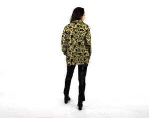 Camo Cotton Army Jacket