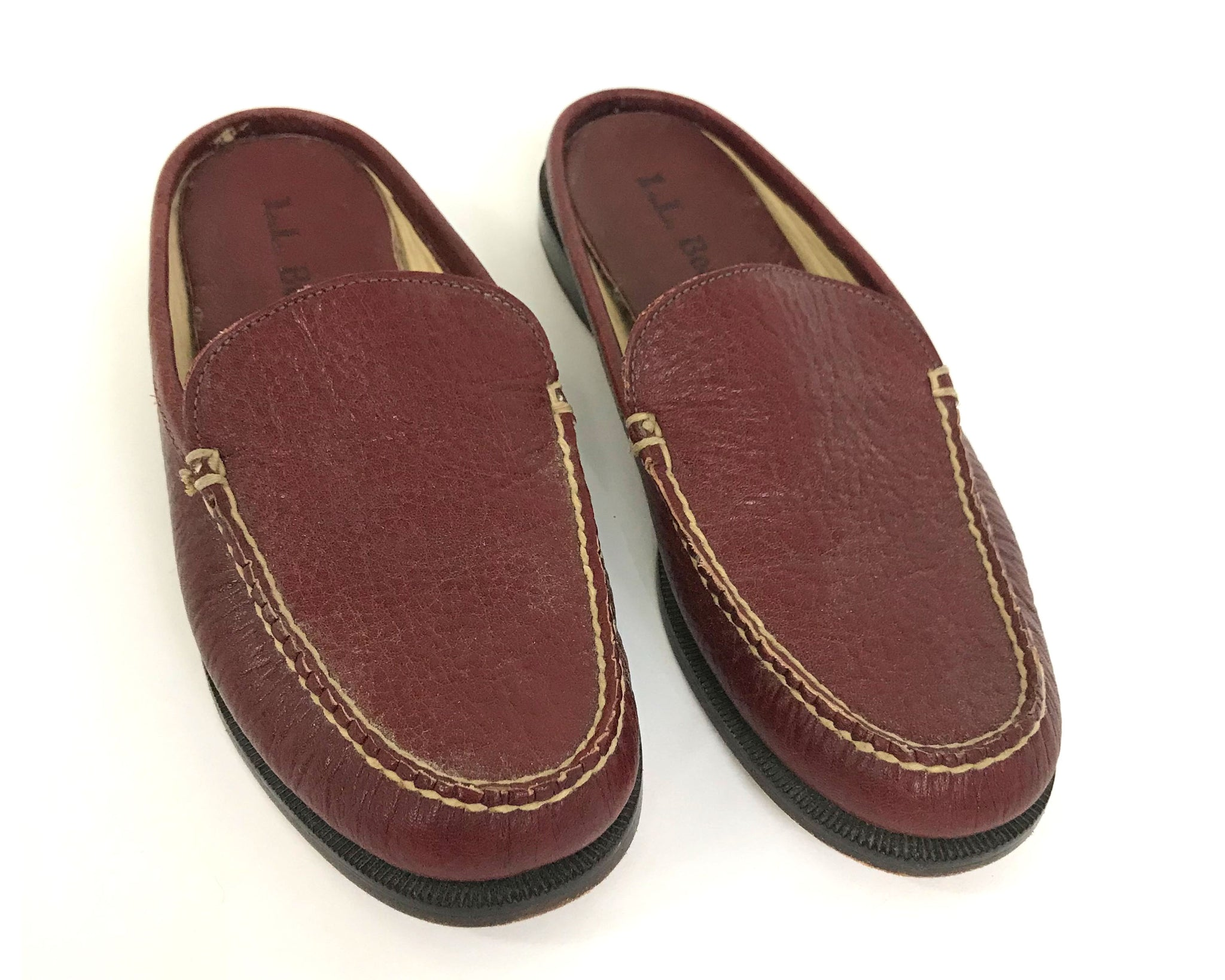 L.L. Bean Leather Mules
