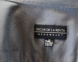 Oscar de la Renta Cotton Dress Shirt