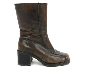 Leather Insulated Ankle Boots