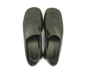 Pleather Platform Loafers