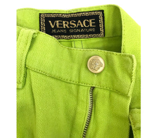 Versace Denim Mini Skirt