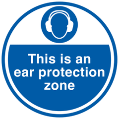 Hearing protection Zone