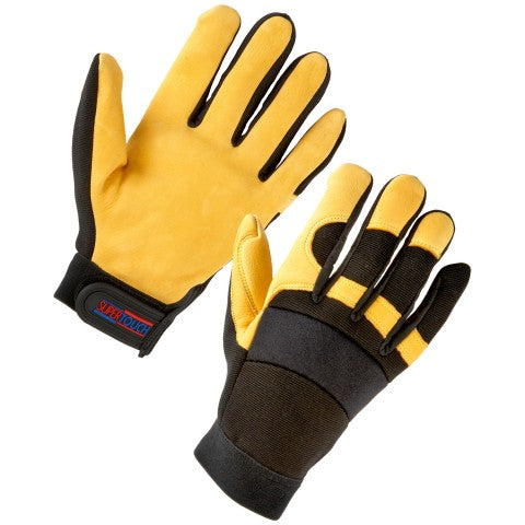 Mechanic Gloves, Padded engineer gloves LESHonline.co.uk