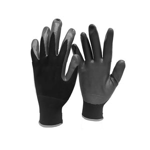 Nitrile coated palm gloves LESHonline.co.uk