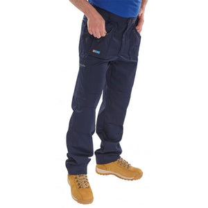 Click Action Work Trousers Navy Blue LESHonline.co.uk
