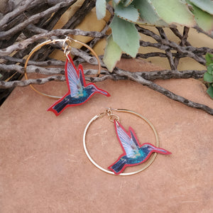 Ancestral Love Hoop Earrings
