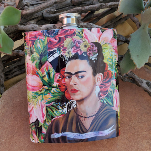 Las Rosas Frida Flask