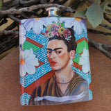 In The Clouds Frida Flask