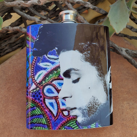 Purpule Dreams Prince Flask
