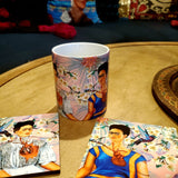 Las 2 Fridas 1 Coaster & Mug Set