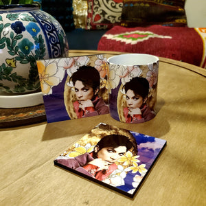 Prince Full Moon Coaster & Mug Set