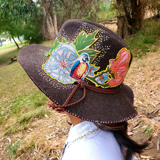 Flopy parrot Wool Hat