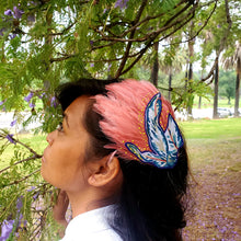Tropical Pink Feather Head Piece