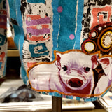 The 2 little Pigs fun 80's shorts