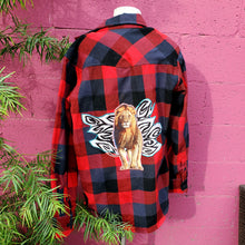 Tiger Red Flannel