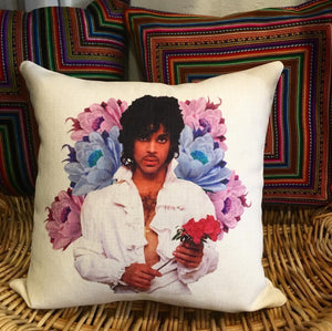 """Yes I'll Be Your Lover"" Prince Pillow"