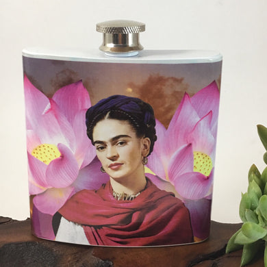 Rising From The Dark  Frida Flask
