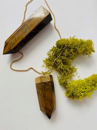 "Tiger's Eye ""Protection"" Necklace"