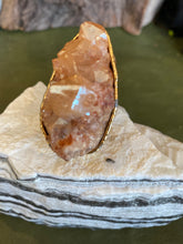 Tangerine Quartz Ring