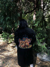 The Storm Is Coming Upcycled Vintage Leather Coat