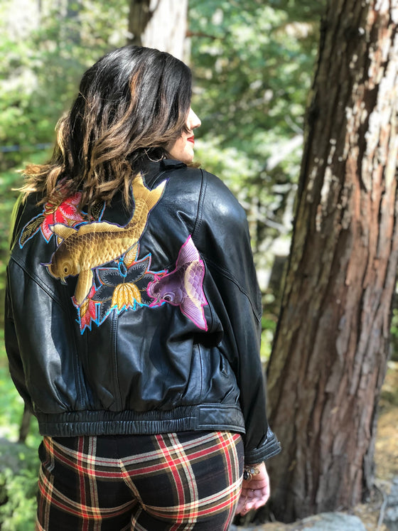 Lovers Upcycled Vintage Leather Jacket