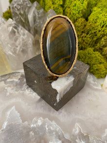 "Tigers Eye ""Protector"" Ring"